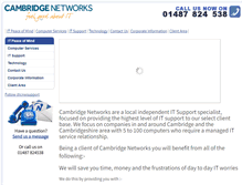 Tablet Preview of cambridge-networks.co.uk
